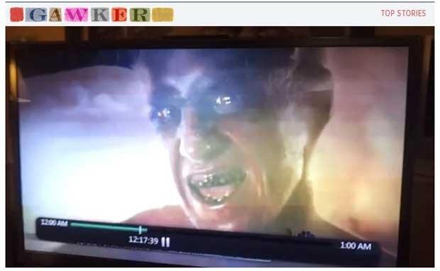 Imagem de demônio vaza durante programa de TV dos EUA