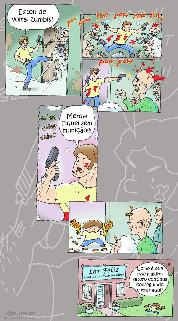 Matando zumbis