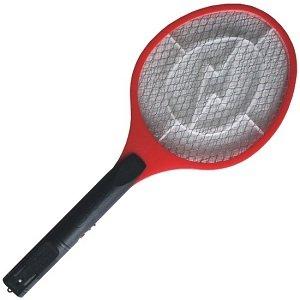 Mijando na raquete elétrica