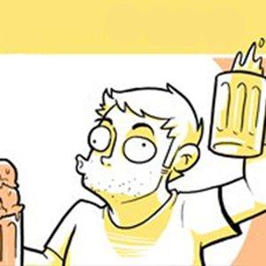 Cerveja é como sorvete para os adultos
