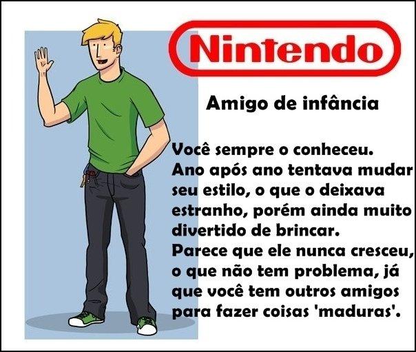 Se as empresas de videogames fossem seus amigos