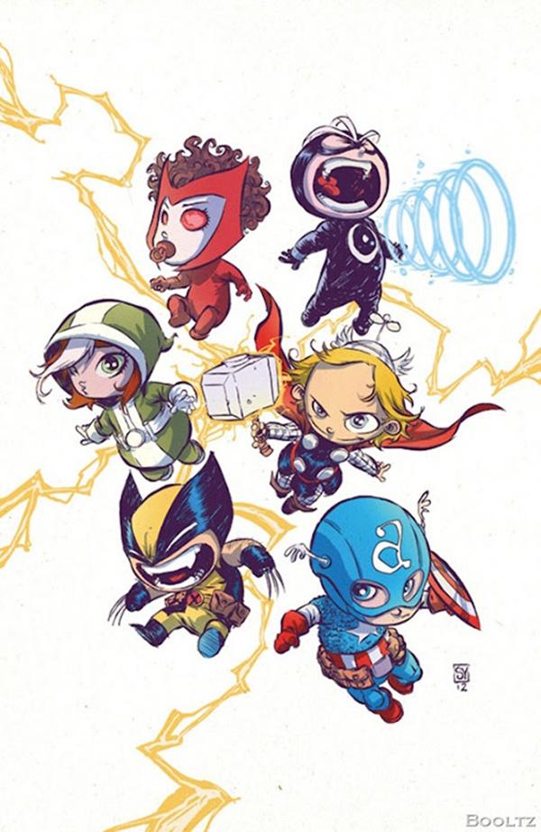 Super herois bebes