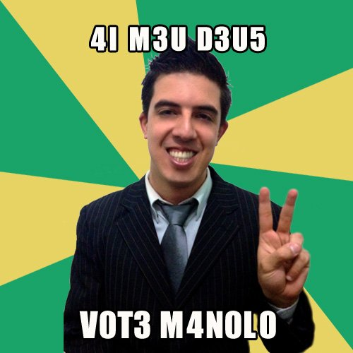 Vote Manolo