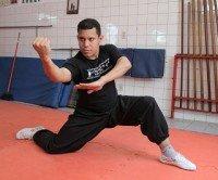 coreografia de artes marciais