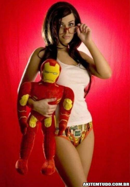Lingeries de Super Heróis