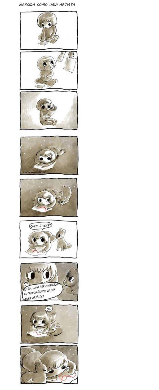 Como nasce uma artista 01