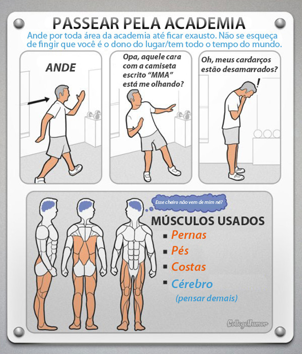 Exercícios para sedentários