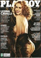 Fotos da Playboy de Outubro Leona Cavalli 1