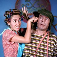Fotos raras da Turma do Chaves
