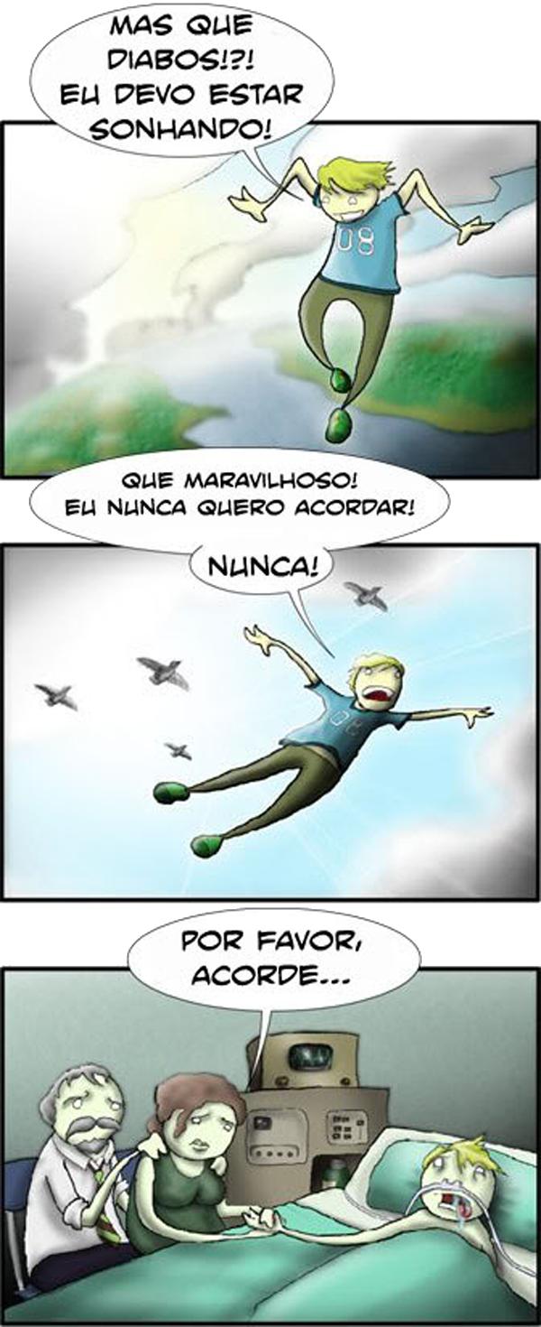 sensacao de estar voando