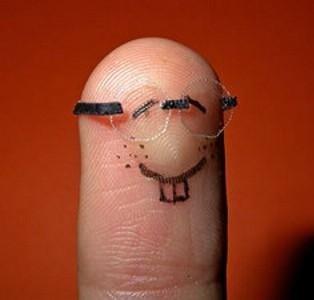 Use os seus dedos