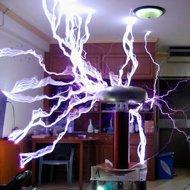 Um Combate Eletrizante com Bobinas Tesla