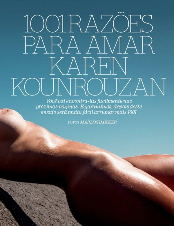 Fotos Karen Kounrouzan Playboy