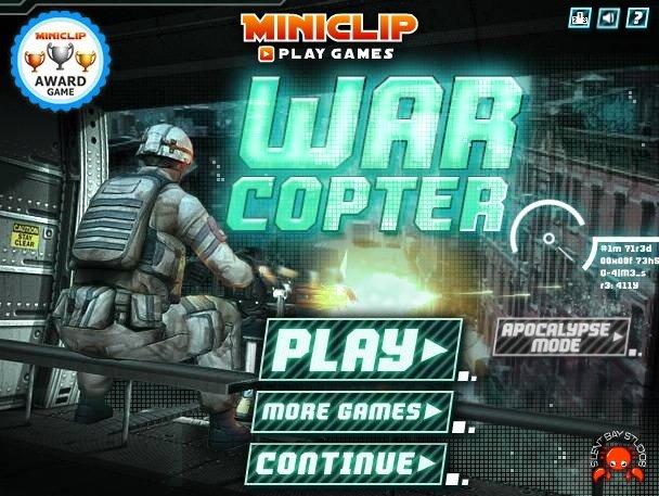 War Copter – Jogo da semana