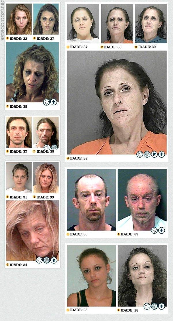 O que a metanfetamina faz com a pessoa