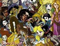 Princesas da Disney transformadas