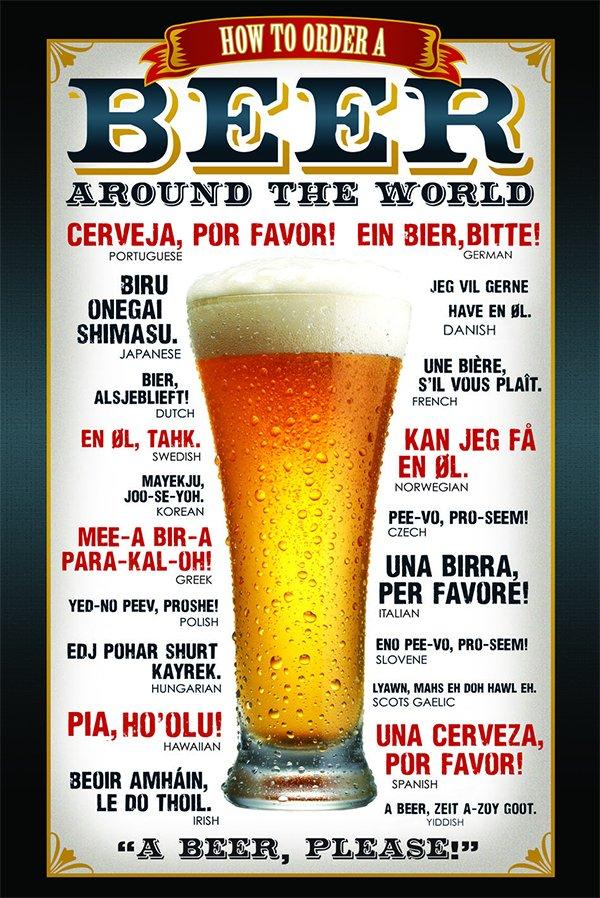 como pedir cerveja