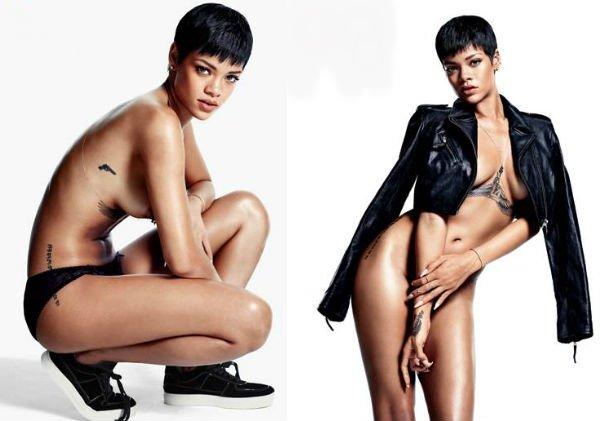 Fotos Rihanna pelada nua