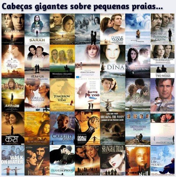 Os maiores clichês em cartazes de filmes