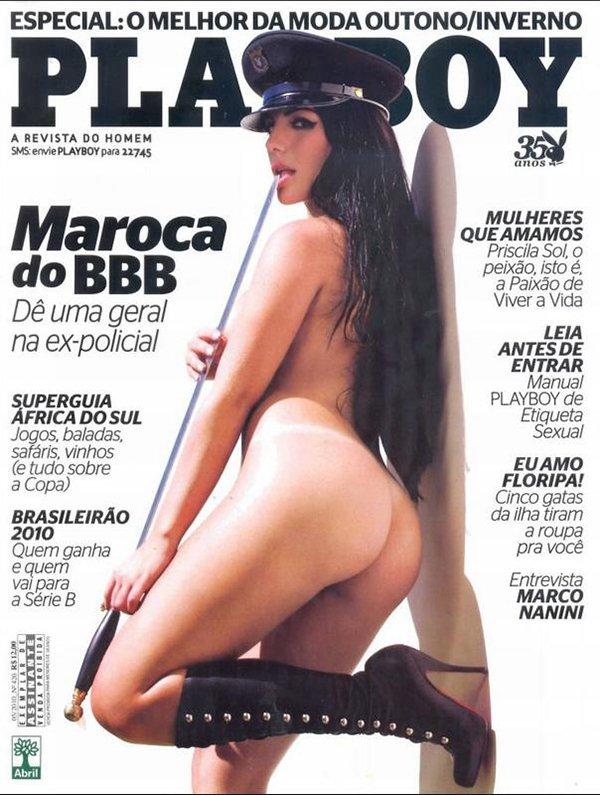 Confira Abaio As Melhores Fotos Playboy Anamara Maroca Bbb