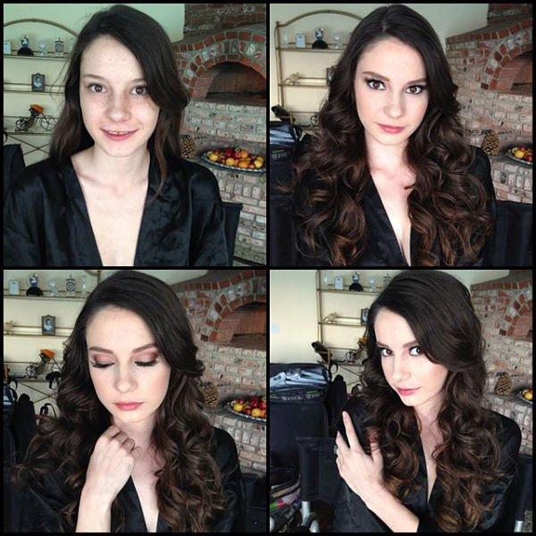 Atrizes porno antes e depois da maquiagem (10)
