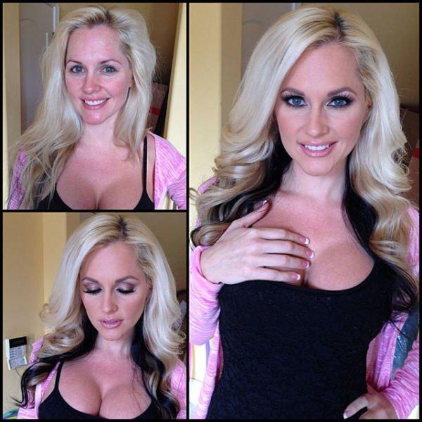 Atrizes porno antes e depois da maquiagem (16)