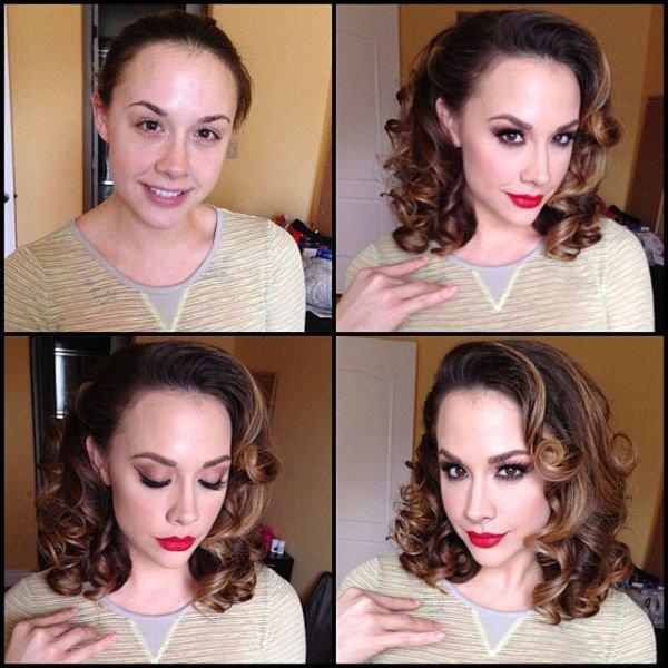 Atrizes porno antes e depois da maquiagem (21)