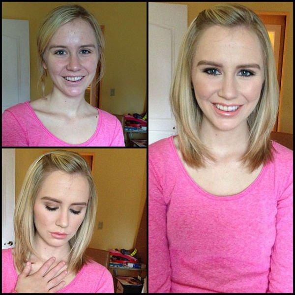 Atrizes porno antes e depois da maquiagem (27)