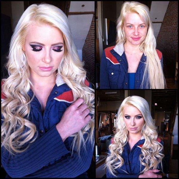 Atrizes porno antes e depois da maquiagem (30)