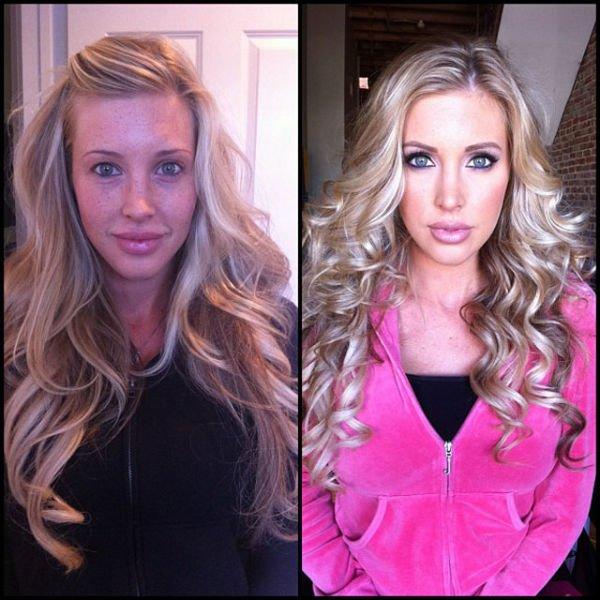 Atrizes porno antes e depois da maquiagem (32)
