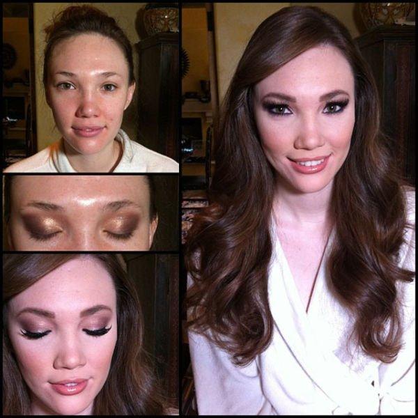 Atrizes porno antes e depois da maquiagem (38)