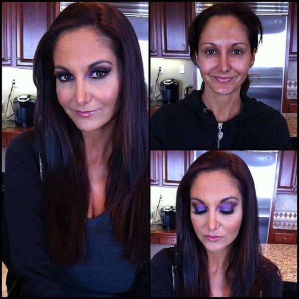 Atrizes porno antes e depois da maquiagem (47)