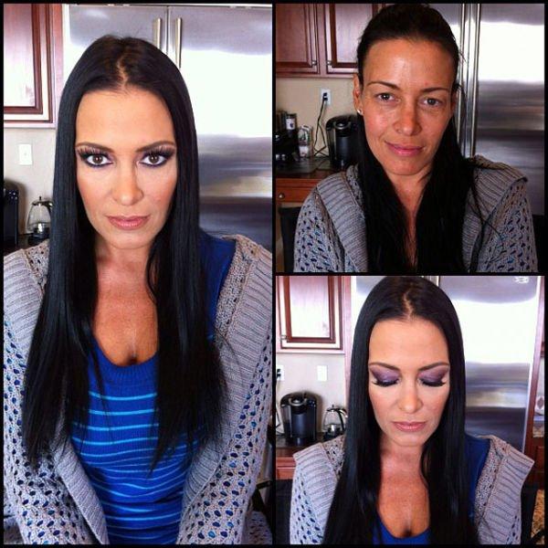Atrizes porno antes e depois da maquiagem (50)