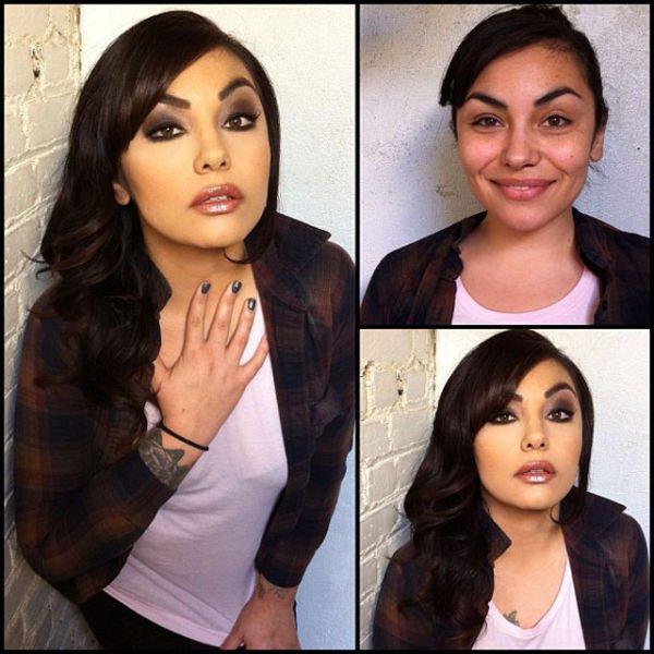 Atrizes porno antes e depois da maquiagem (59)