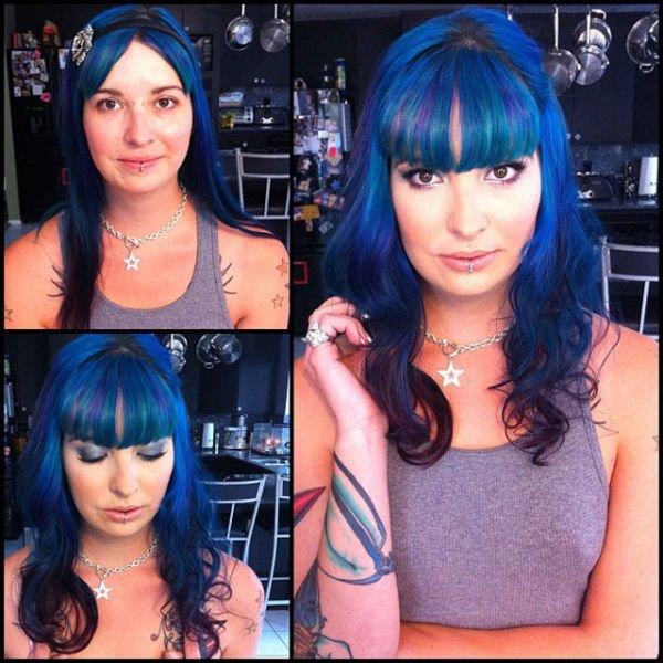 Atrizes porno antes e depois da maquiagem (68)