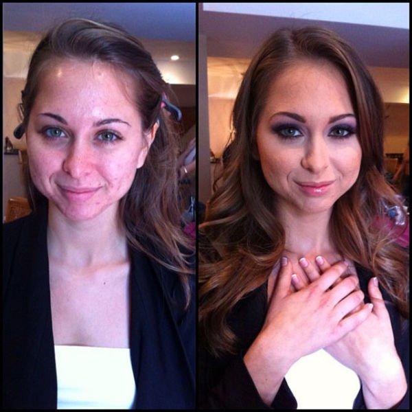 Atrizes porno antes e depois da maquiagem (76)
