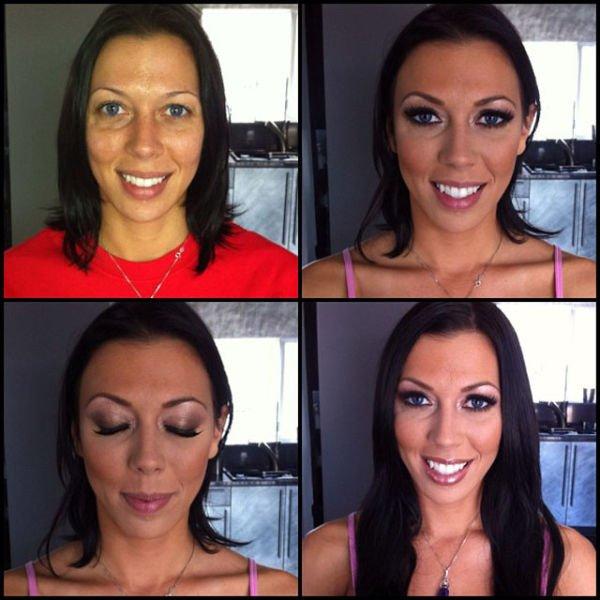 Atrizes porno antes e depois da maquiagem (77)