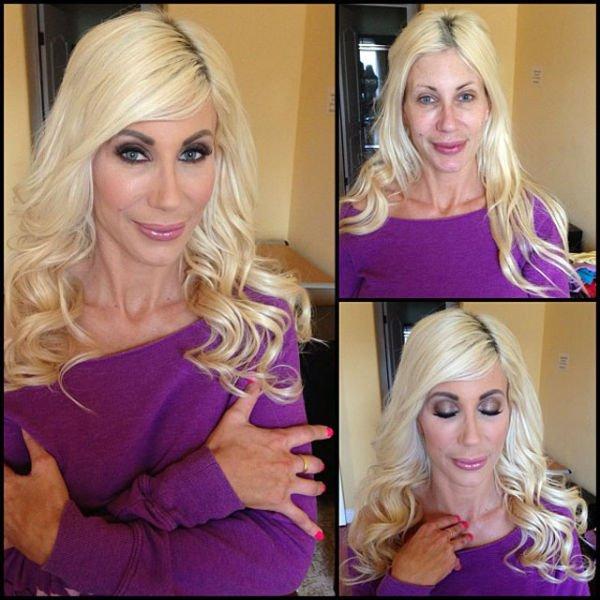 Atrizes porno antes e depois da maquiagem (8)