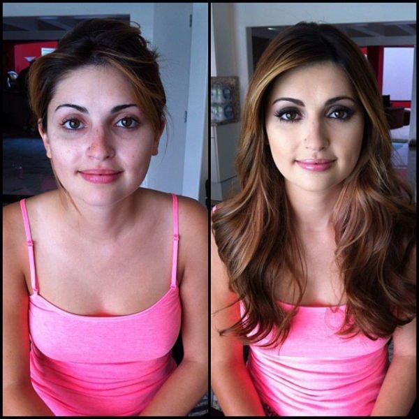 Atrizes porno antes e depois da maquiagem (82)