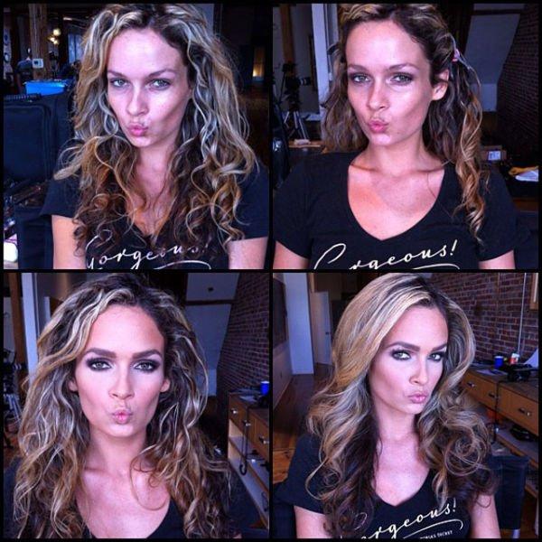 Atrizes porno antes e depois da maquiagem (86)