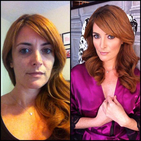 Atrizes porno antes e depois da maquiagem (87)