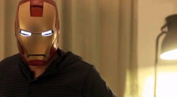 Como fazer o capacete do Homem de Ferro