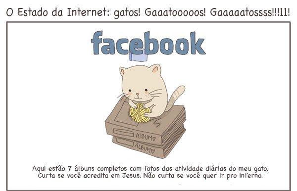 Para que serve as redes sociais, explicadas por gatos