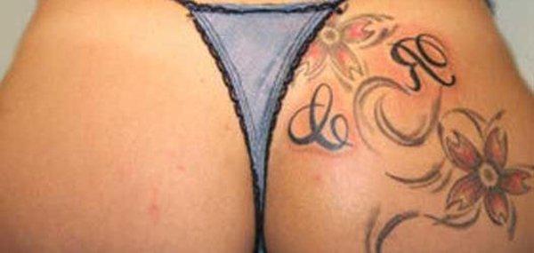 Tatuagens femininas desenhadas em lugares íntimos (6)