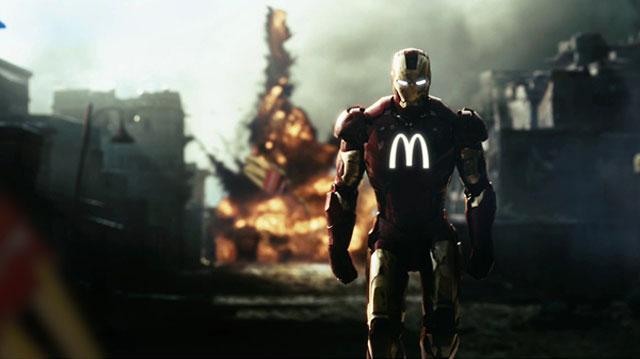 E se os Super Heróis fossem patrocinados por marcas famosas?