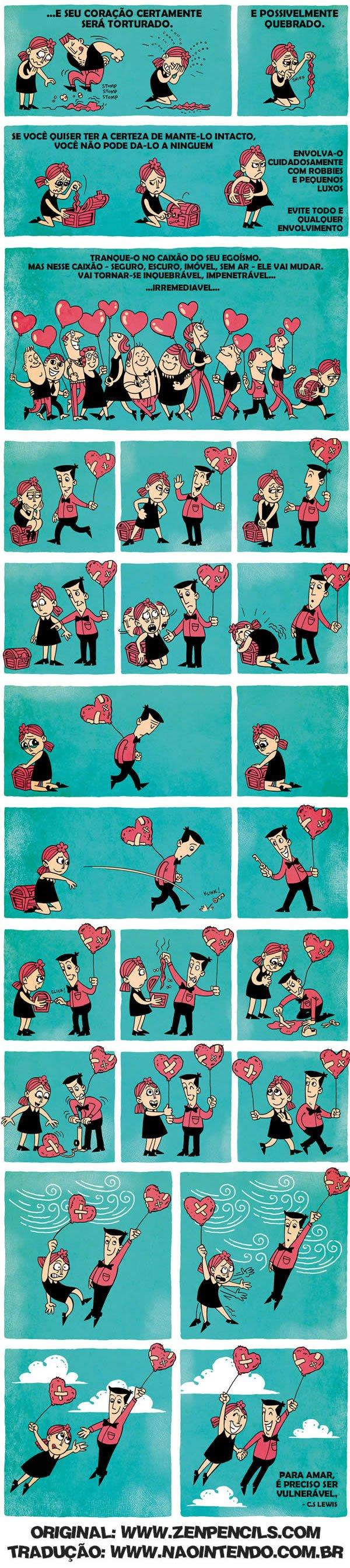 para amar é preciso ser vulnerável