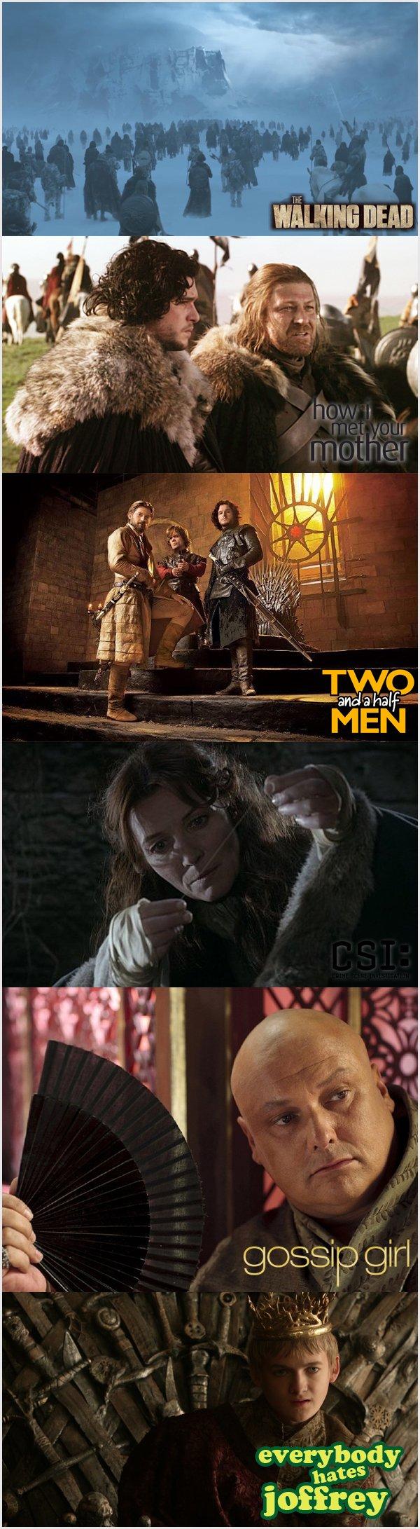 Game Of Thrones várias séries dentro de apenas uma