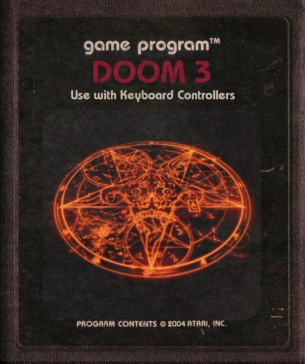 Jogos modernos em versões cartuchos de Atari  (10)