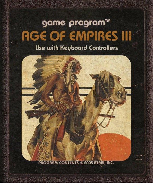 Jogos modernos em versões cartuchos de Atari  (1)