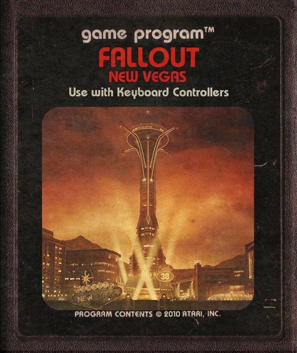 Jogos modernos em versões cartuchos de Atari  (12)